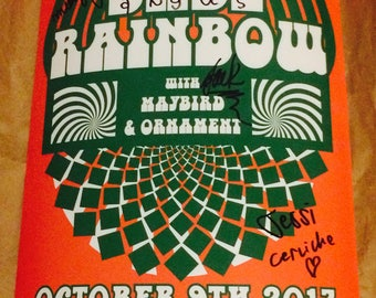 The Babe Rainbow *Signed* Show Poster
