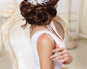 Bridal hair comb Rhinestone hair comb Crystal hair comb Bridal hair piece Wedding hair comb Rhinestone hair piece Crystal hair piece