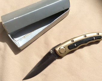 Knife, Pocket Knife 440 C Blade, pocket clip