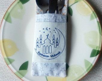 Ramadan cutlery holder/ Ramadan table decorations (set of 4)