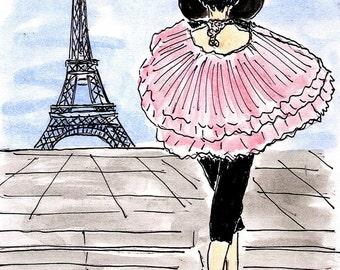 Parisian Pink Model