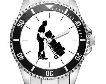 Gift for postman Mail carrier Watch 6145