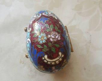 Cloasonet egg for jewelry