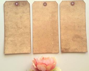 50 JUMBO Vintage Wedding Tags. Travel Theme Rustic Luggage Tag. Anthropologie. Menu. Paper Luggage Tag. Seating Card. Place Card. 8x4 DARK