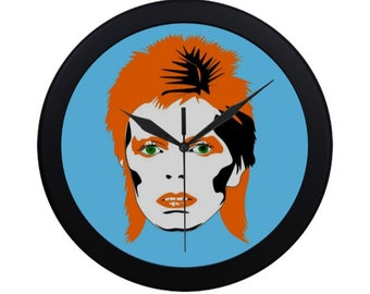DAVID BOWIE quartz clock
