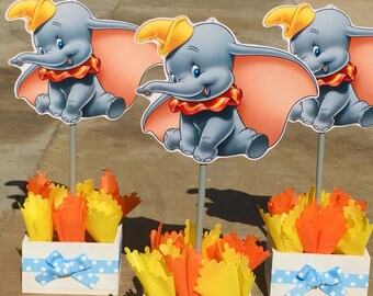 Dumbo birthday party decoration Centerpiece for Birthday or Baby Shower Birthday Favor Candy Buffet Guest Centerpiece PER PIECE