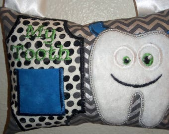 Monster Tooth Fairy Pillow