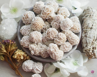 Desert Rose Selenite - Rough Stones - Gemstones - Crystals - Selenite Cluster - Pocket Stones - Healing Stones - Meditation - Loose Stones