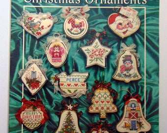 "Counted Cross Stitch booklet ""Christmas Ornaments"" 1988"