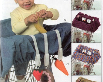 McCall's Crafts Pattern 5124 GROCERY CART LINER for Babies & Toys
