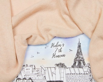 Blush Jersey by the Yard, Peach Jersey Fabric, Powder Sweater Knit Fabric, Jersey Wholesale, Pale Orange Wool Jersey, Apricot Wool Viscose