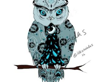 Night Owl - color version