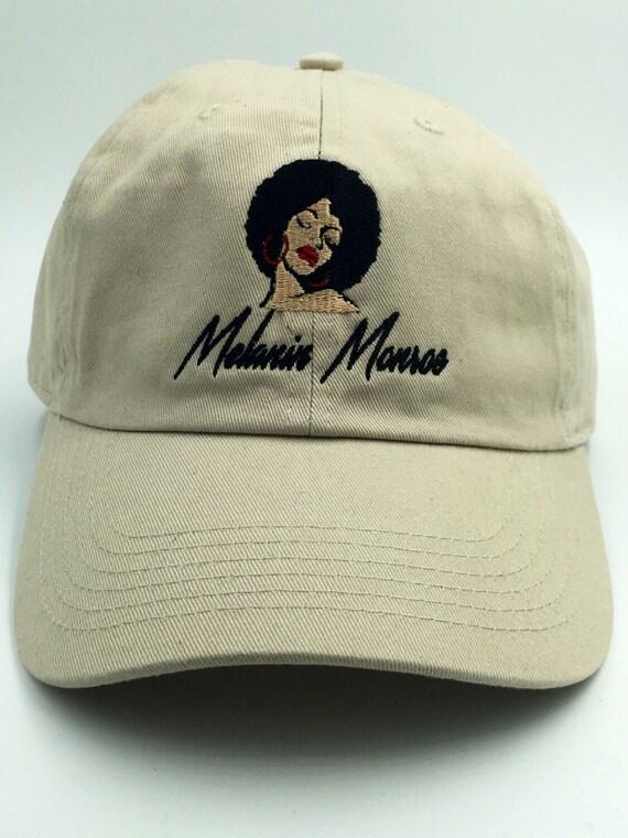 Melanin Monroe Embroidered Dad Hat Melanin Dad Hat