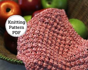 KNITTING PATTERN-Razzle Dazzle, Dishcloth Pattern