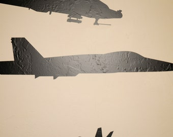 F-18 Fighter Jet - Wall Decal