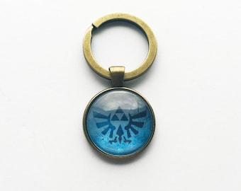 Legend of Zelda Hylian Crest Keychain