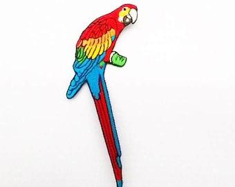 Parrot Bird Iron on Patch.