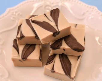Tiger Peanut Butter Chocolate Fudge, Gourmet Fudge, Homemade Peanut Butter Fudge, Fudge by the pound