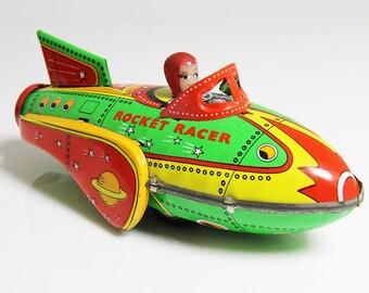 50s Retro Rocket Racer
