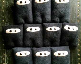 Set of 10 Ninja Nubbins - Black