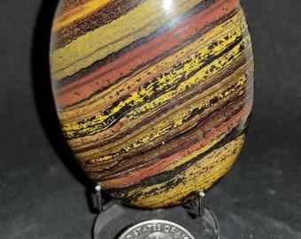1 tiger iron palmstone