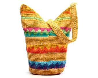 Golden Gabacha Shoulder Bag