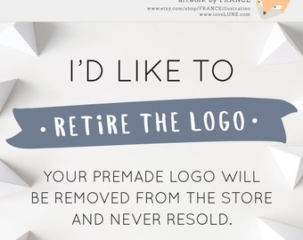 RETIRE LOGO add-on.