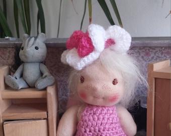 Waldorf doll, little Angel  pocket doll