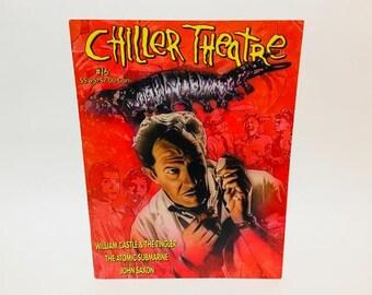 Vintage Magazine Chiller Theatre Magazine #16 David Carradine