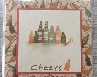 Handmade Cheers Card