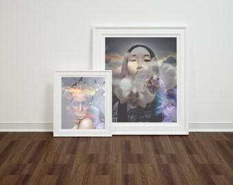 Geisha -- Modern Contemporary Fine Art Photography Print