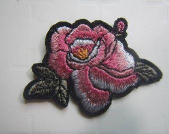 Light Pink Flower  –  Pink Flower - Flower – Iron on Patch