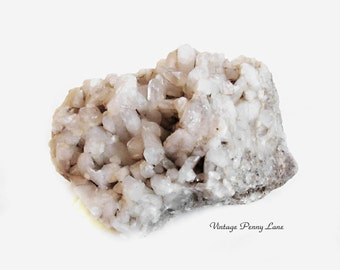 Raw Cluster Quartz Crystal Stone, Rock, Mineral, Rough Specimen