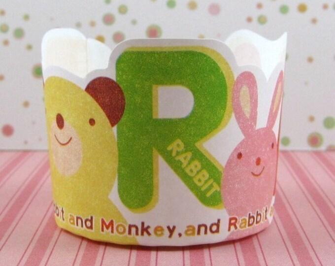 Cute Animal Muffin Cups