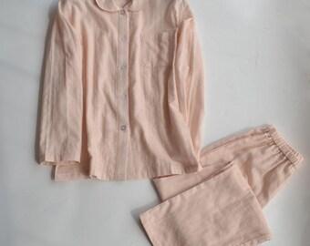 Womens Pyjamas Distressed Jacquard Cotton