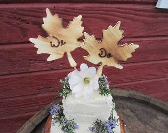 Fall wedding decor, fall cake topper, fall wedding, rustic fall wedding, autumn wedding decor, autumn cake topper, rustic cake topper,