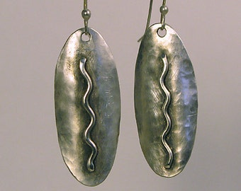 River Runs Thru It - Sterling Silver earrings