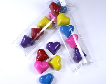 Heart crayon stick set by Scribblers Crayons