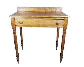 19th Century Sheraton Rustic Farmhouse Table SALE