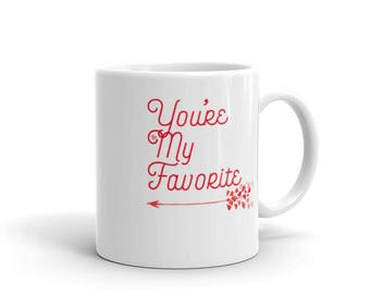 Friends and Couples Matching Valentines Mug