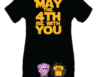 May the 4th be with you Infant Creeper, bodysuit, Funny, Baby gift, May the force be with you, jedi, darth vader, star wars gift