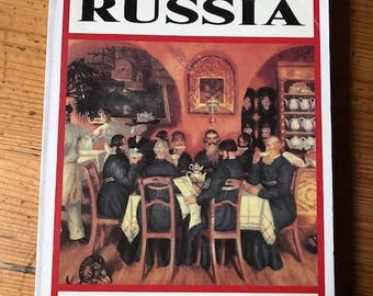 1988 The food and Cooking of Russia by Lesley chamberlain paperback   great old cookbook