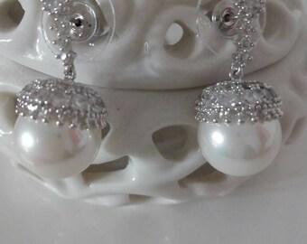 Vintage elegant Earrings from the years 1990