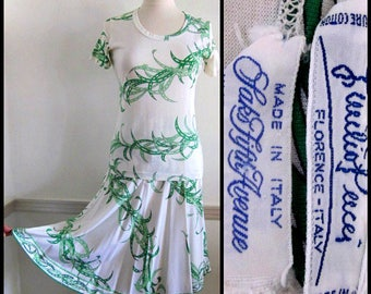 Vintage Emilio Pucci Dress / 60s Emilio Pucci Skirt Set / Rare 60s Pucci for Saks Suit / Vintage Pucci Skirt / Vintage Pucci Top / fits S