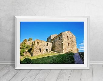Old village in Corsica IV, France, French, Fine Art, Photography, Downloadable Art, Printable Art, Home Decor, Best Seller
