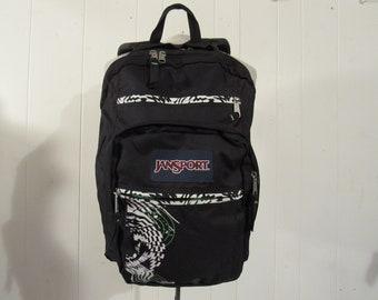 Vintage backpack, Jansport backpack, 1980s 90s backpack, vintage book bag, oldschool, 1980s Jansport