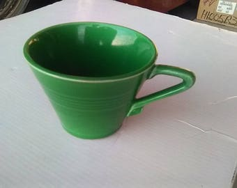 Rare Harlequin Medium Green Teacup