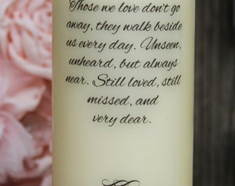 Wedding Memory Candle, Rememberance Candle, Personalized Candle, Wedding Memory candle, Wedding Rememberance Candle
