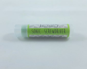 Sonic Screwdriver -- Doctor Who Inspired Chap Stick