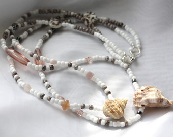 Double Shell Necklace